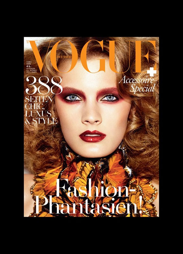 Constance Jablonski for Vogue Germany March 2011 (Cover)