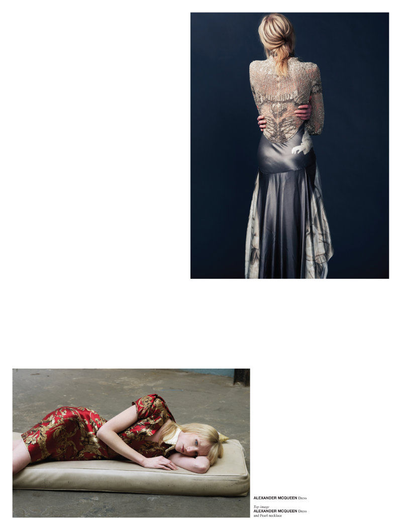Jade Parfitt in Alexander McQueen by Jermaine Francis for Crash