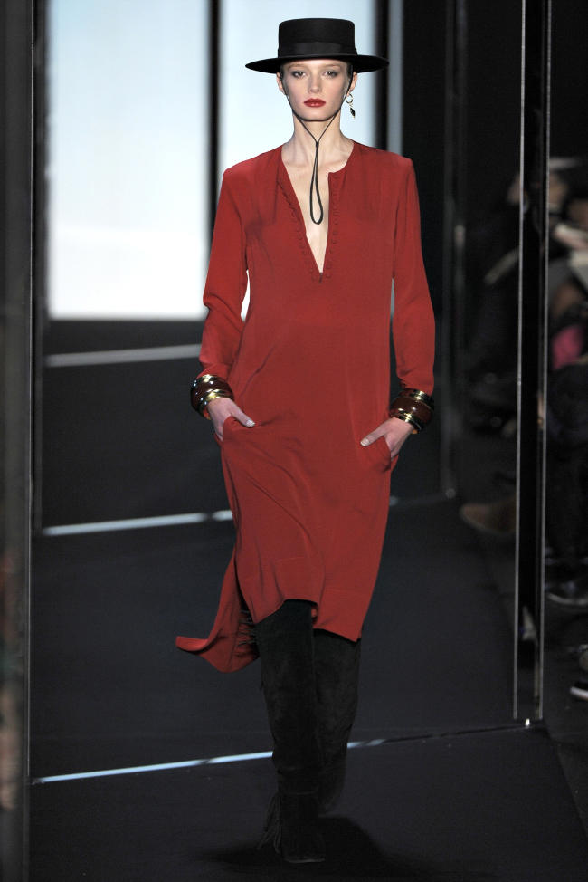 Diane von Furstenberg Fall 2011 | New York Fashion Week