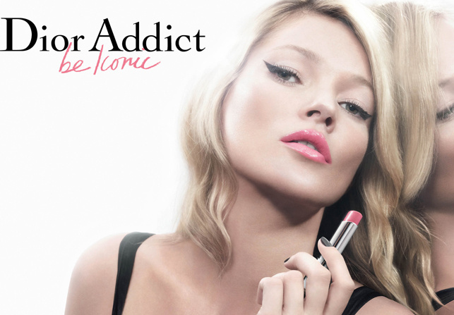 Kate Moss for Dior Addict Spring 2011 Campaign