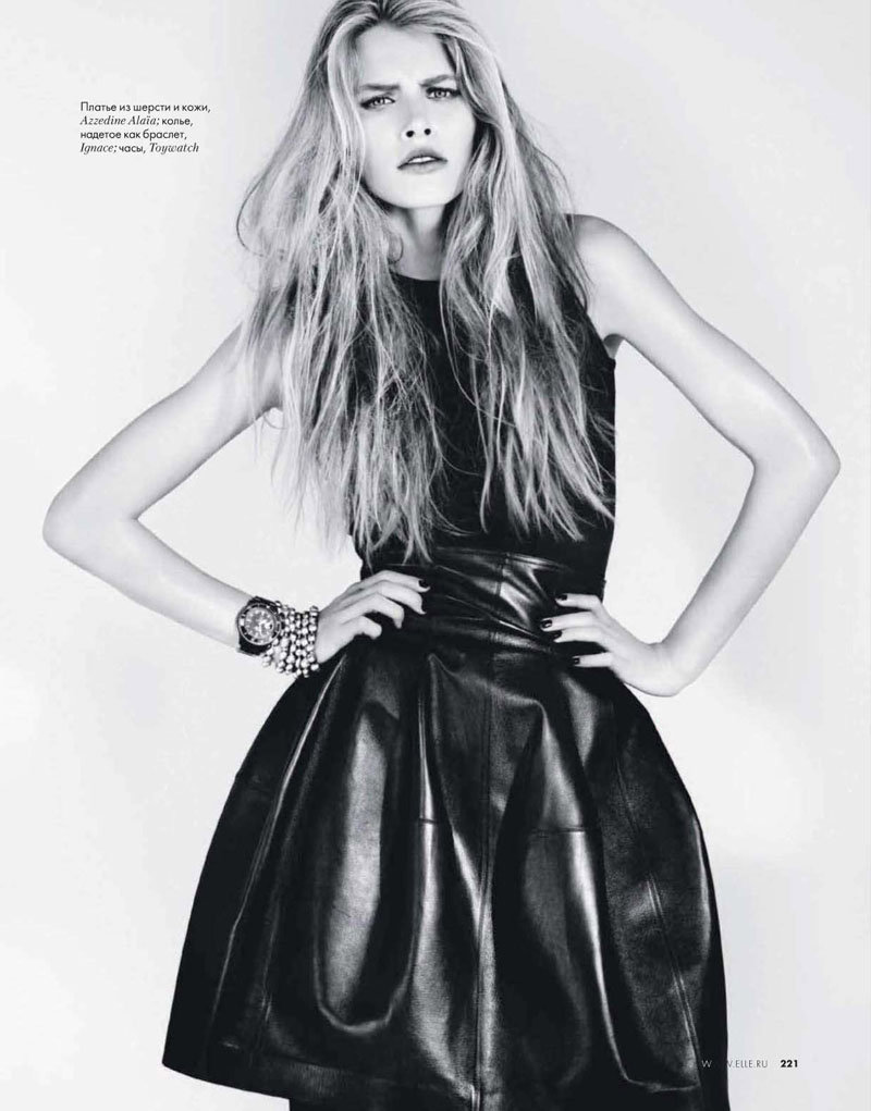 Annamara Post by Lee Broomfield for Elle Russia February 2011