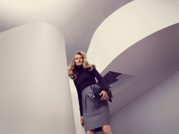 David Lawrence Fall 2011 Campaign | Emma Balfour by Georges Antoni