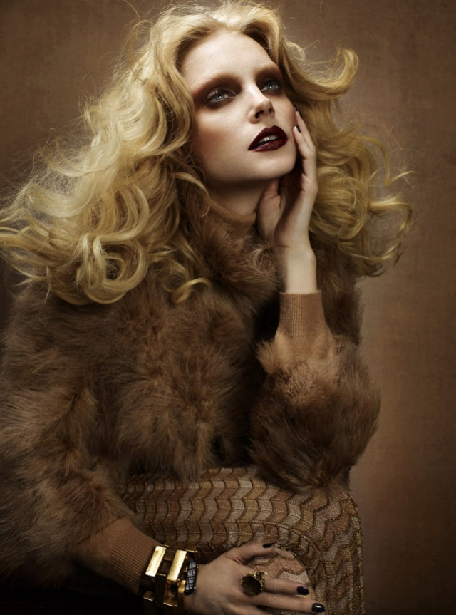 Jessica Stam by Cuneyt Akeroglu for Wonderland February/March 2011