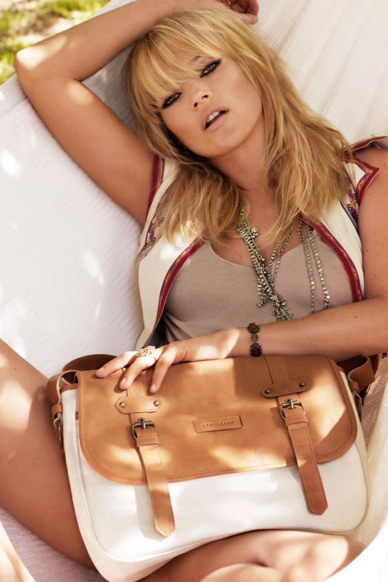 Kate Moss for Longchamp Spring 2011 Campaign | Kate Moss by Alasdair McLellan