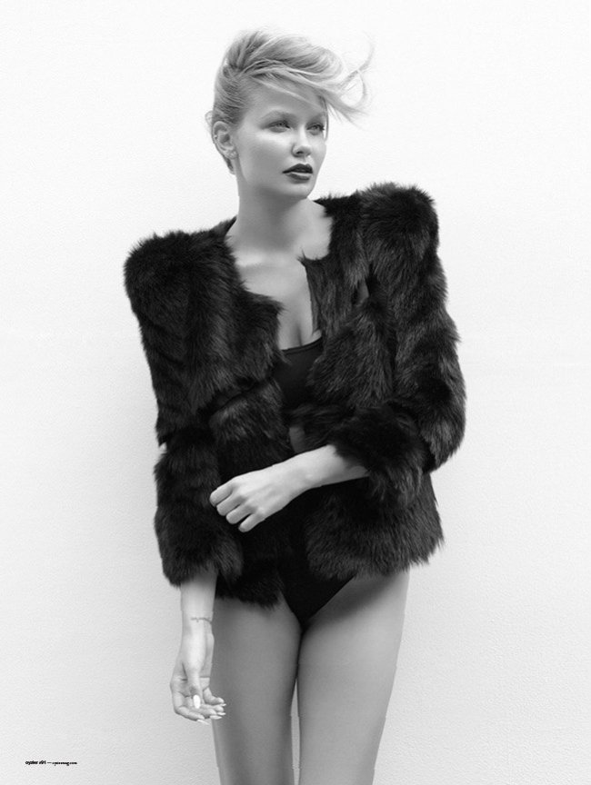 Lara Bingle for Oyster #91 by Stephen Ward & Georges Antoni