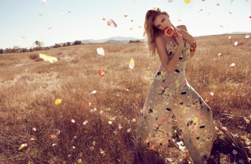 Lily Donaldson by Camilla Akrans for Monsoon Spring 2011 Campaign