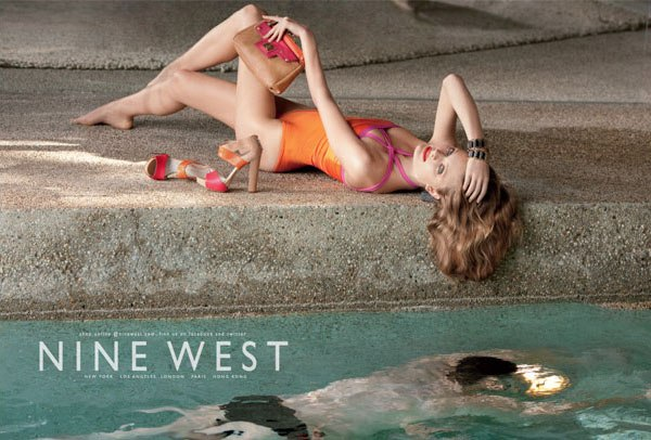 Constance Jablonski for Nine West Spring 2011 Campaign