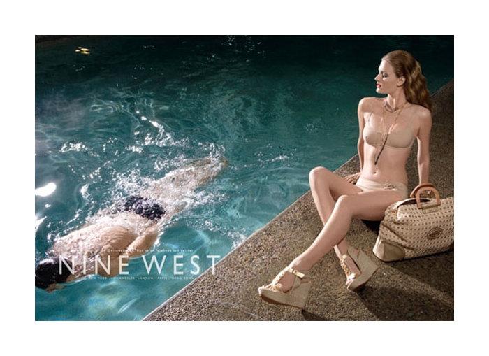 Constance Jablonski for Nine West Spring 2011 Campaign