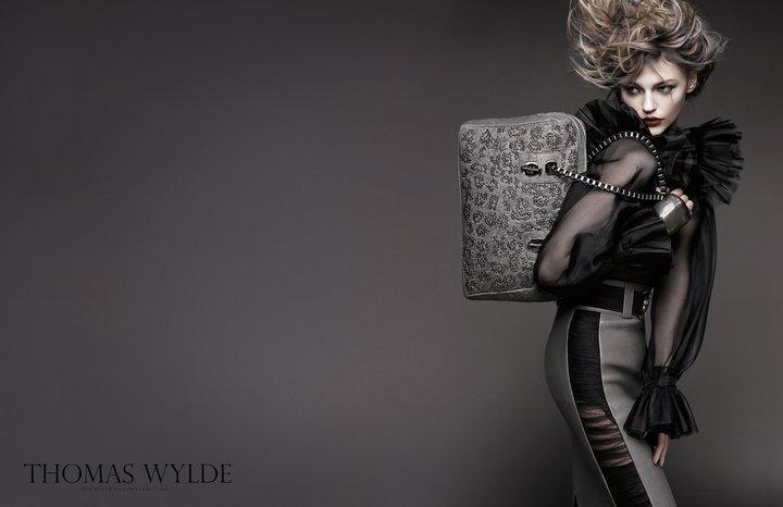 Thomas Wylde Spring 2011 Campaign | Sasha Pivovarova by Greg Kadel
