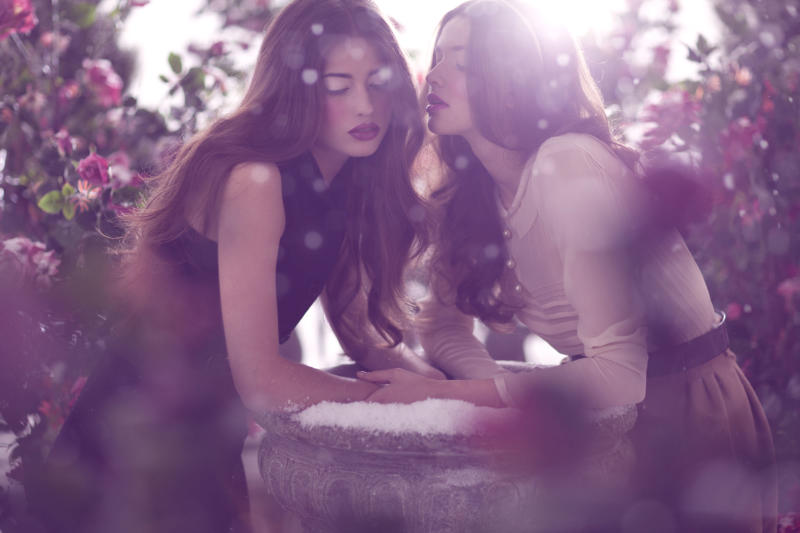 Samantha & Kristina by Amber Gray for Marie Claire China February 2011