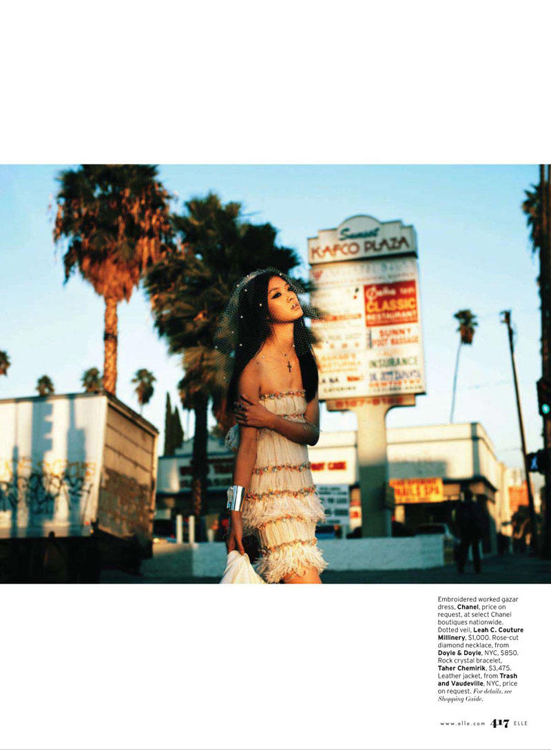 So Young Kang by Laurie Bartley by Elle US March 2011