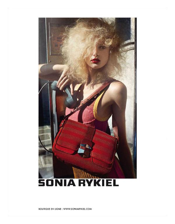 Sonia Rykiel Spring 2011 Campaign | Patricia van der Vliet by Cédric Buchet
