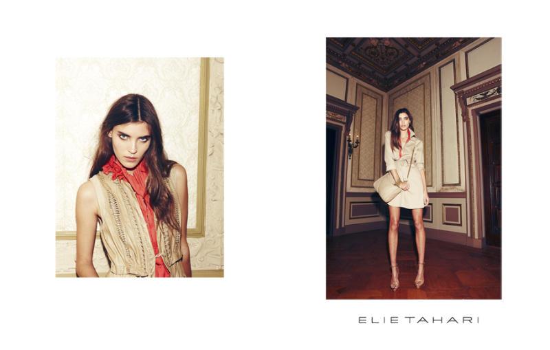 Elie Tahari Spring 2011 Catalogue | Alison Nix & Ksenia by Nagi Sakai