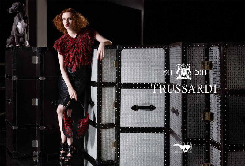 Trussardi 1911 Spring 2011 Campaign   Karen Elson by Milan Vukmirovic