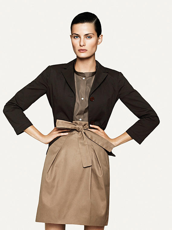 +J for Uniqlo Spring 2011 Campaign | Isabeli Fontana by David Sims