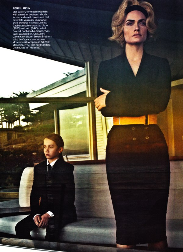 Amber Valletta by Steven Klein for Vogue US March 2011