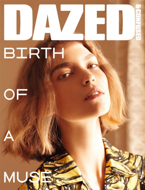Arizona Muse Covers Dazed & Confused March 2011