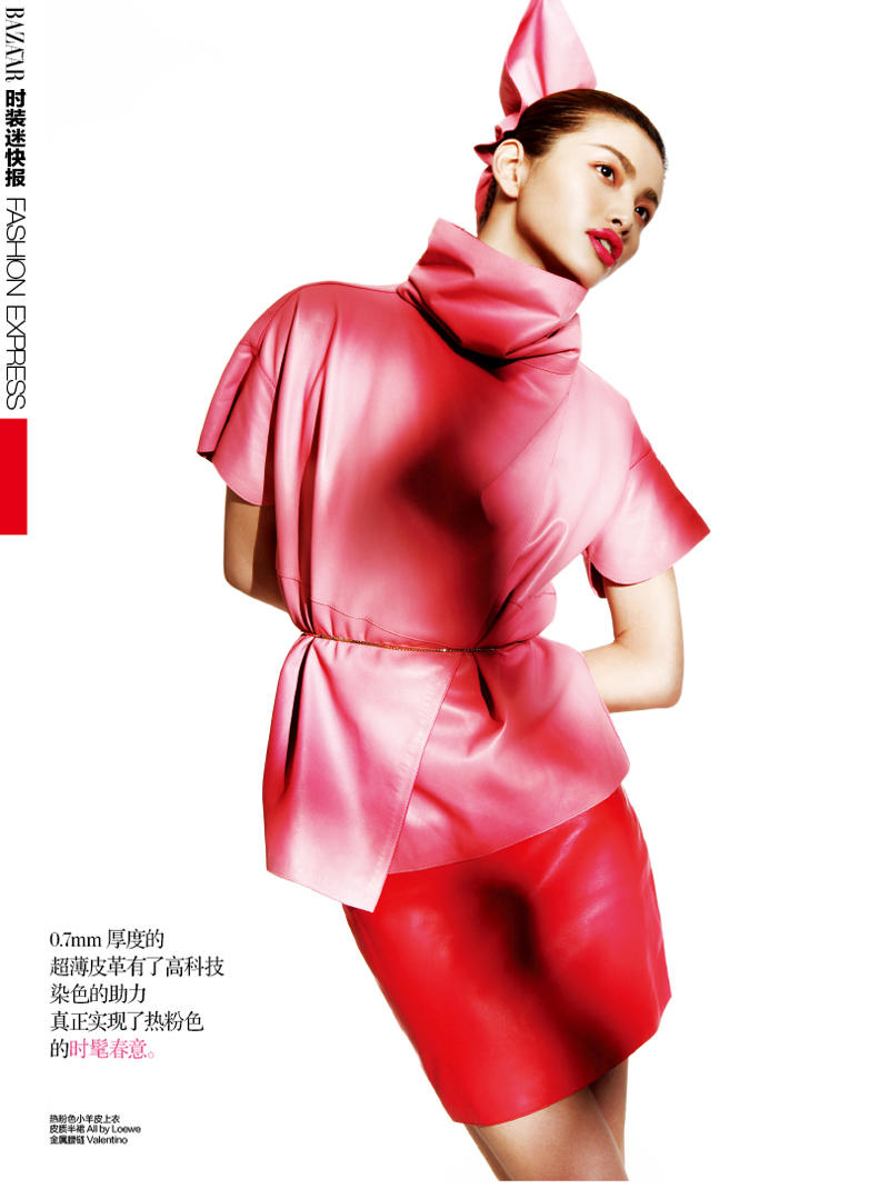 Zhou Danni & He Sui by Trunk for Harper's Bazaar China March 2011