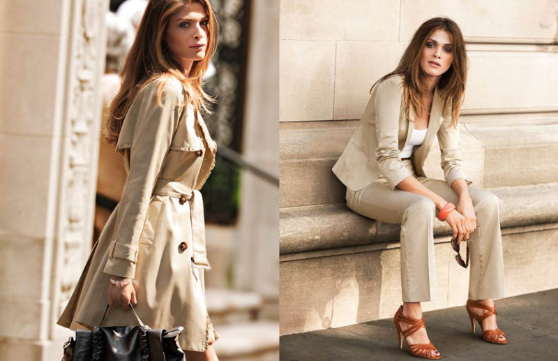 Elisa Sednaoui by Asa Tallgard for H&M Spring 2011 Campaign