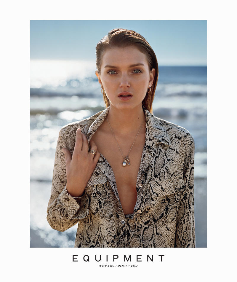 Lily Donaldson by Alasdair McLellan for Equipment Spring 2011 Campaign