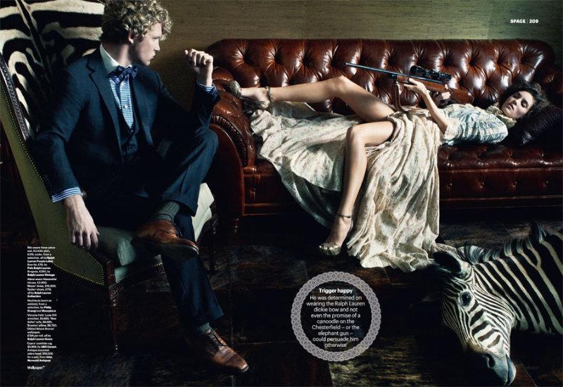 Fashion Victims by Matthias Vriens-McGrath for Wallpaper March 2011