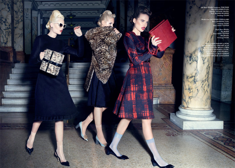Alicia, Kara & Marlena by Micaela Rossato for Glass #4