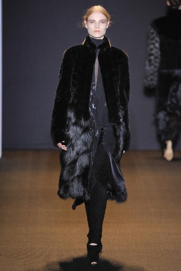 J. Mendel Fall 2011   New York Fashion Week