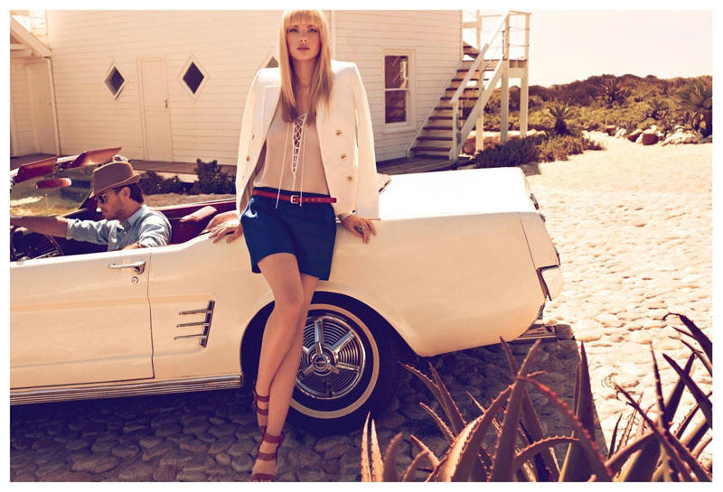 Koton Spring 2011 Campaign | Dioni Tabbers by Koray Birand