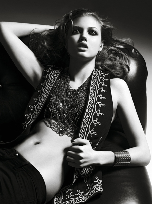 Lindsey Wixson for Moussy Spring 2011 Campaign