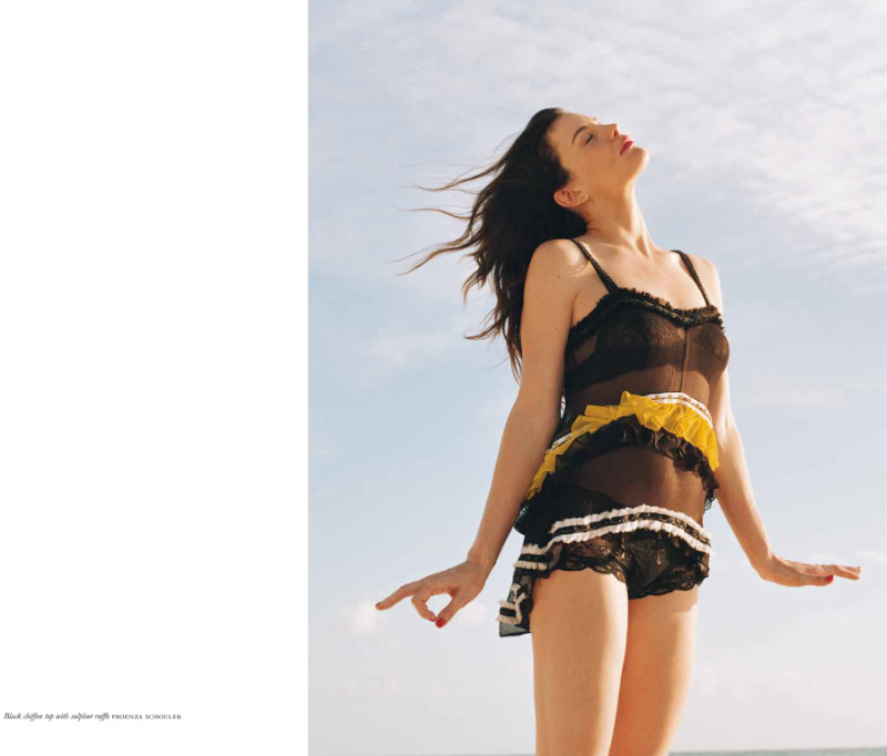Liv Tyler by Theo Wenner in Proenza Schouler for Purple Fashion S/S 2011