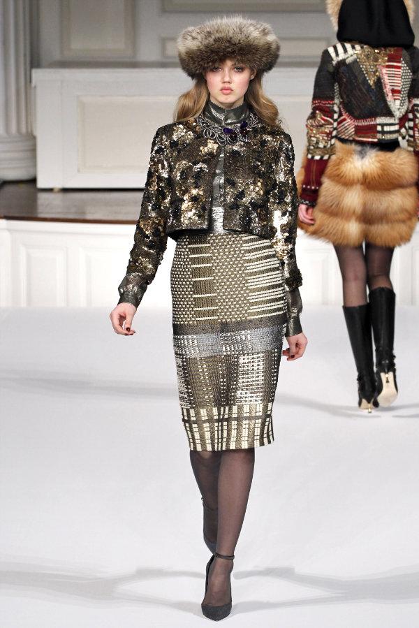 Oscar de la Renta Fall 2011 | New York Fashion Week