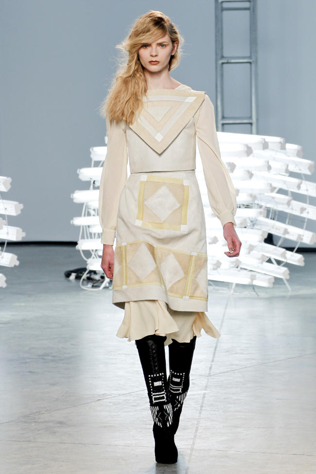 Rodarte Fall 2011 | New York Fashion Week