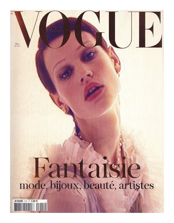 Vogue Paris March 2011 Cover   Saskia de Brauw by Mert & Marcus