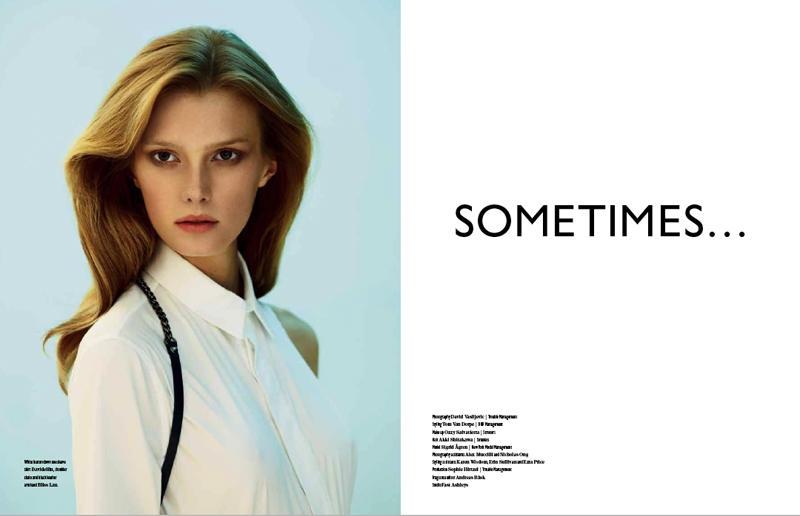 Sigrid Agren by David Vasiljevic for Bon International S/S 2011