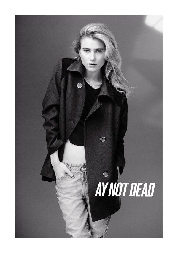 Dree Hemingway for AY Not Dead Fall 2011 Campaign by Sebastian Faena