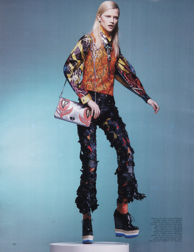 Psychedelic Cowgirl by Craig McDean for Interview March 2011