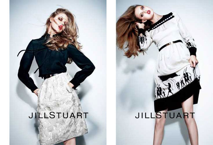 Jill Stuart Spring 2011 Campaign | Lindsey Wixson by Mario Sorrenti