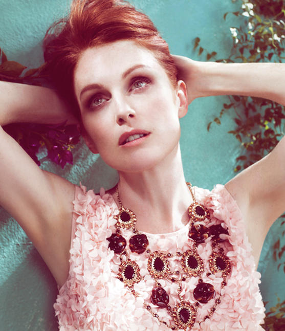 Julianne Moore for Talbots Spring 2011 Campaign by Mert & Marcus