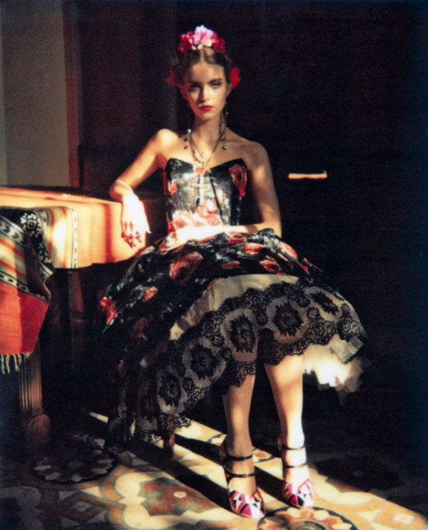 Emily Senko by Wendy Bevan for Marie Claire Italia March 2011