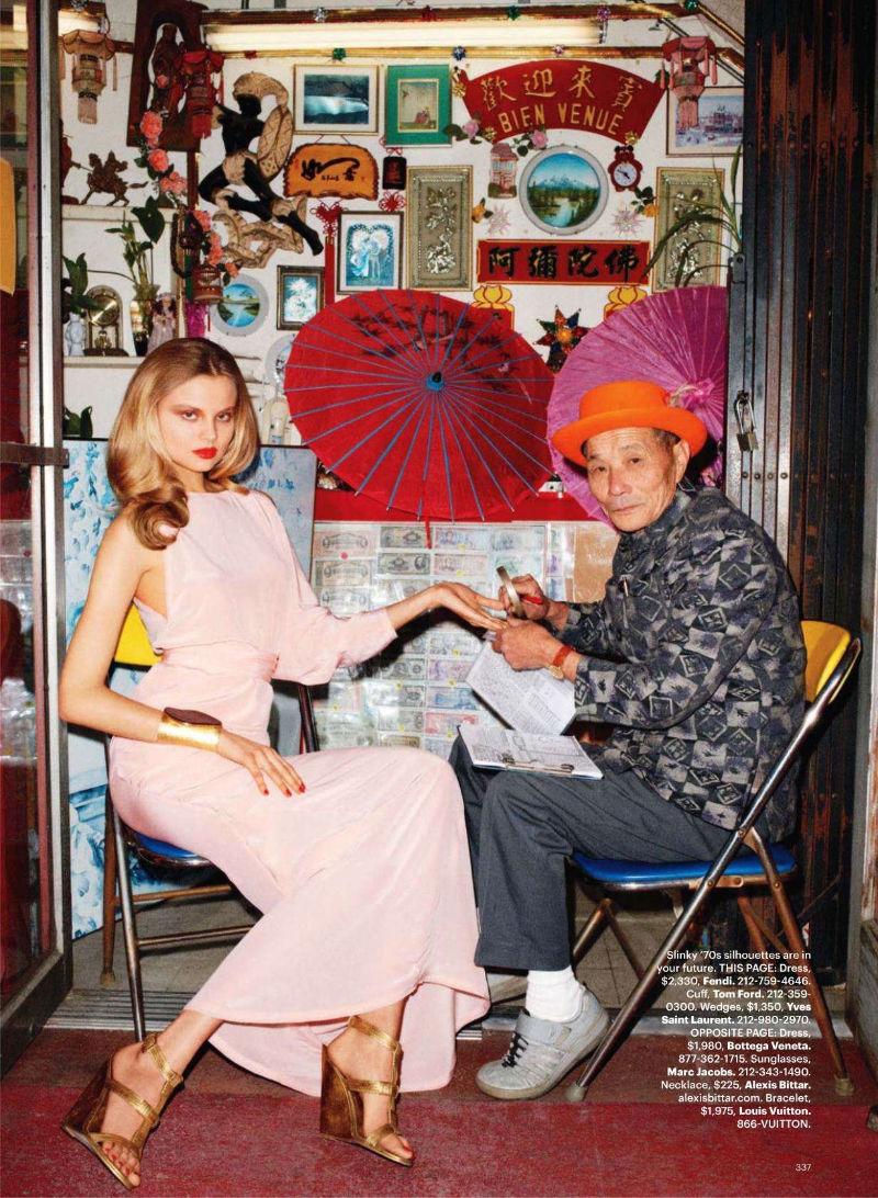 Magdalena Frackowiak by Terry Richardson for Harper's Bazaar US March 2011