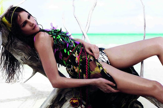 Missy Rayder for WSJ March 2011 by Catherine Servel