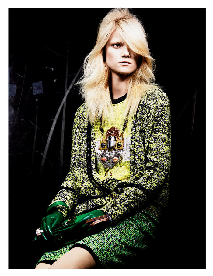 Proenza Schouler in Interview March 2011 by Craig McDean