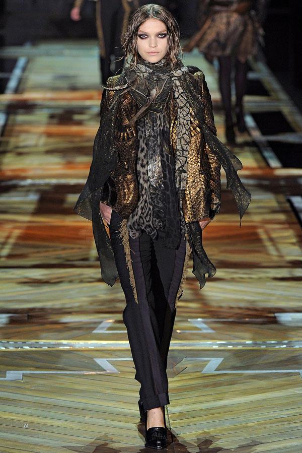 Roberto Cavalli Fall 2011 | Milan Fashion Week