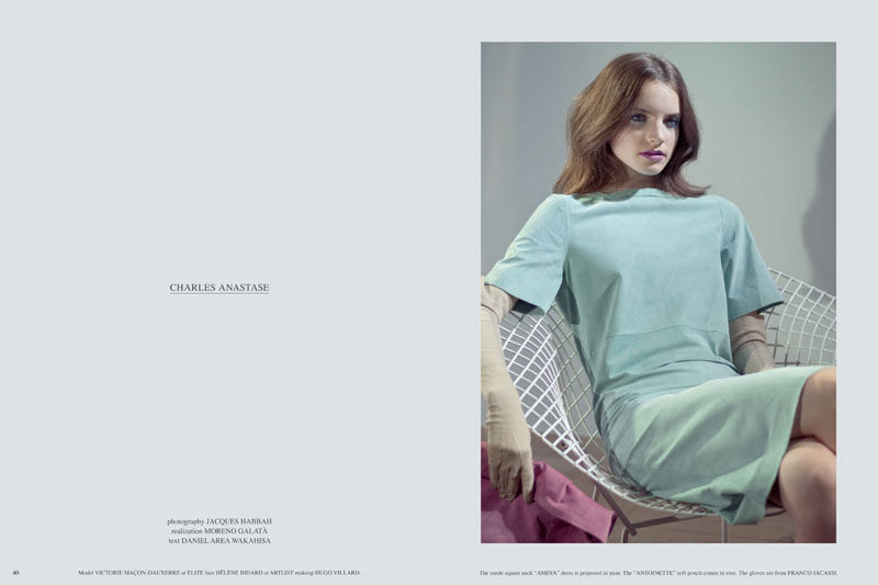 Victoire Mac-Dauxerre by Jacques Habbah for Grey S/S 2011
