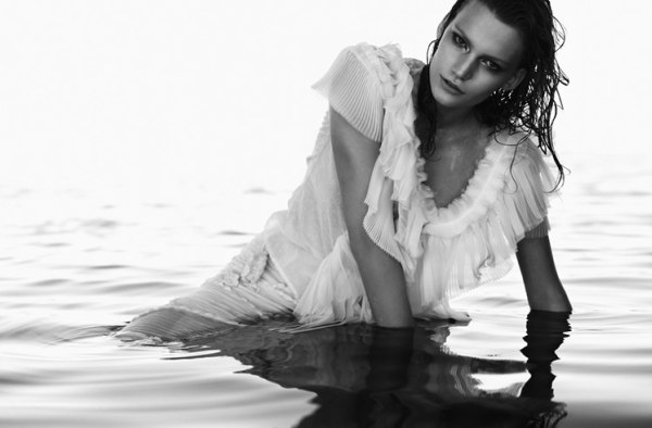 Lena Hardt by Stefano Moro for Amica March 2011