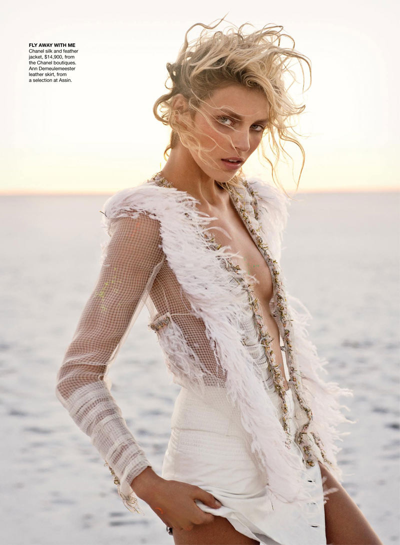 Anja Rubik for Vogue Australia April 2011 by Max Doyle