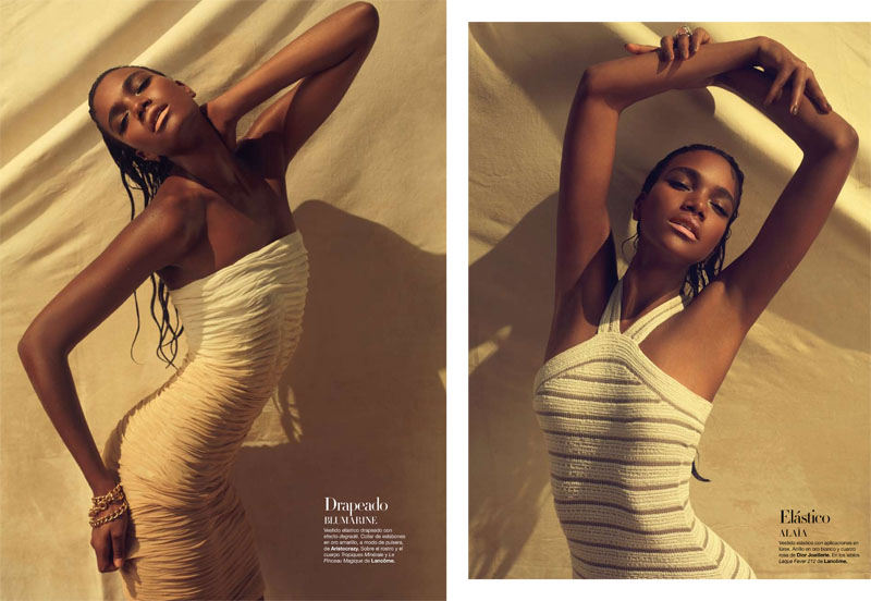 Arlenis Sosa by Xevi Muntané for Harper's Bazaar Spain March 2011