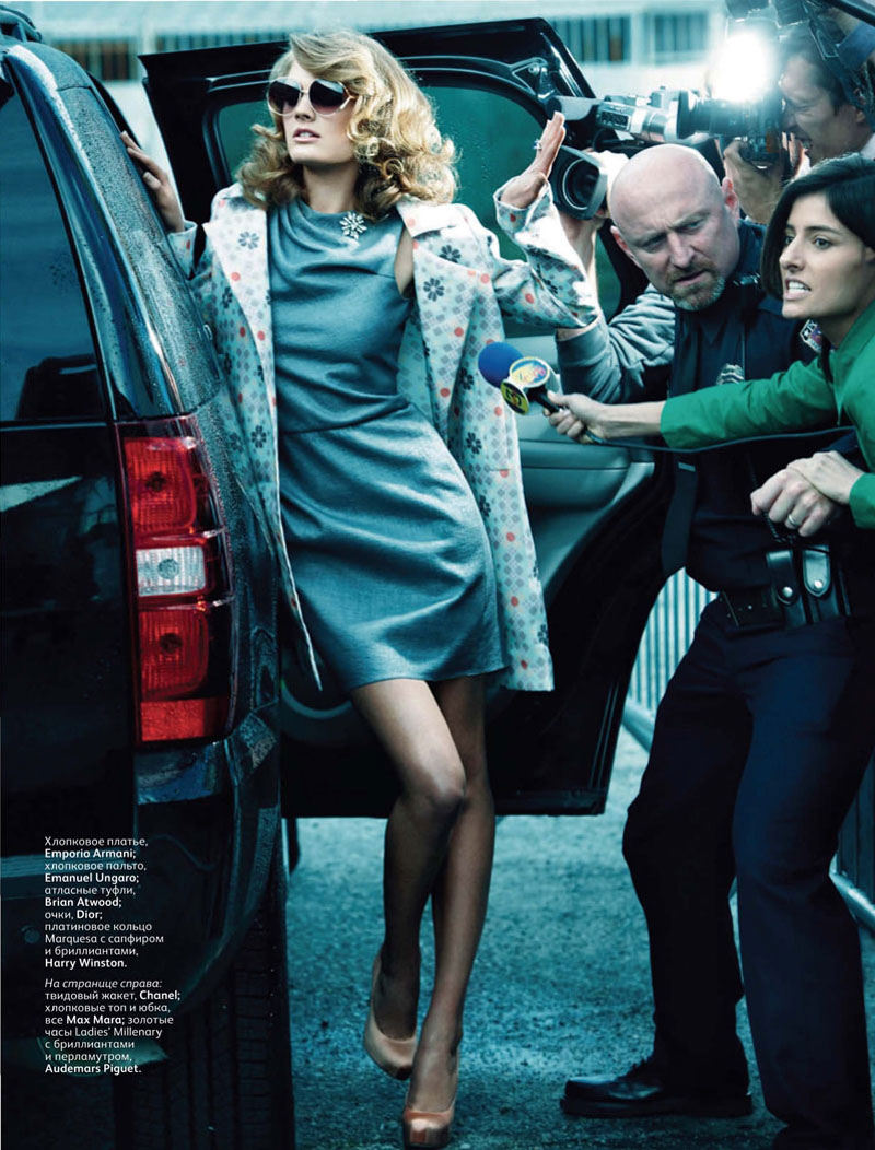 Constance Jablonski for Vogue Russia March 2011 by Alexi Lubomirski
