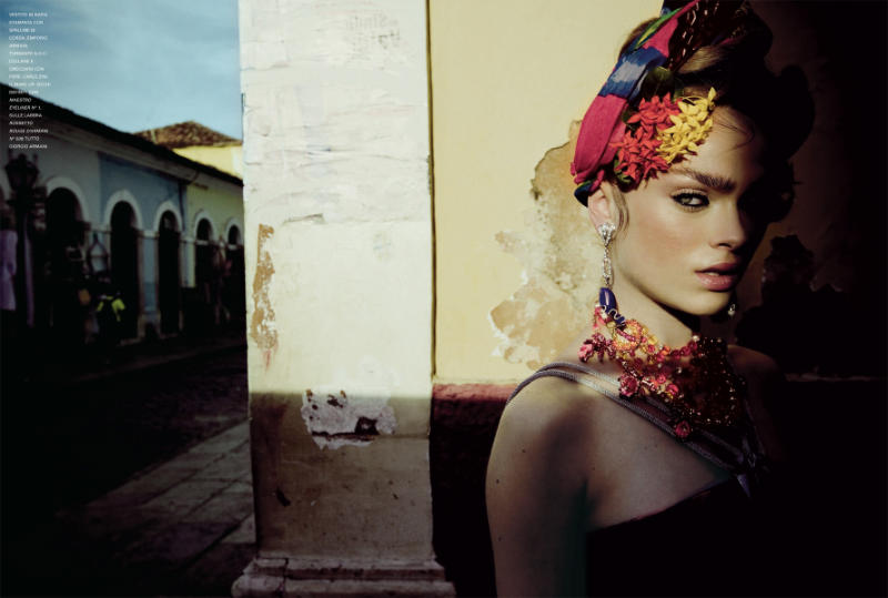 Sophie Vlaming by Jean-François Campos for Flair March 2011