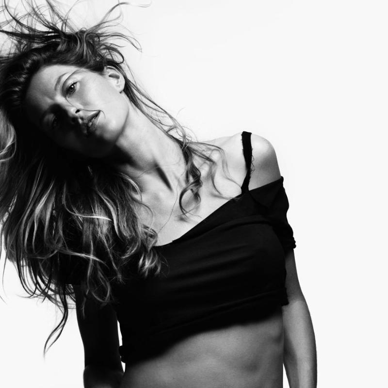 Gisele Bundchen for V #70 by Hedi Slimane